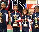Colgate Elementary A 200 meter runners