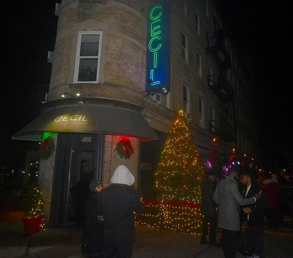 Celebrated Harlem actress Kim Fields, Harlem fashion icon Dapper Dan, Fox News T.V. Anchor Arthel Neville.
