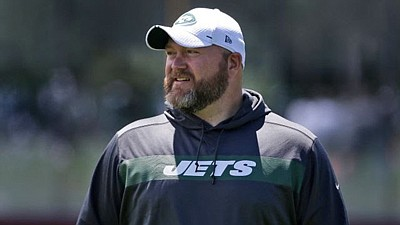 Ravens front office executive and current Jets General Manager Joe Douglas Photo credit: Seth Wenig/A