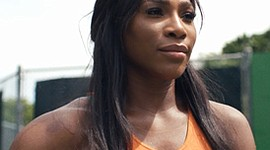 Serena Williams at The American Issue for The FADER