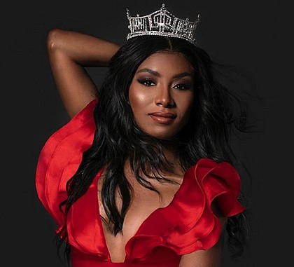 Miss America Nia Franklin