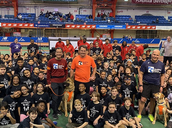 On Monday, Dec. 16, The Armory Foundation's City Track and Little Feet community youth programs hosted Guiding Eyes for the ...