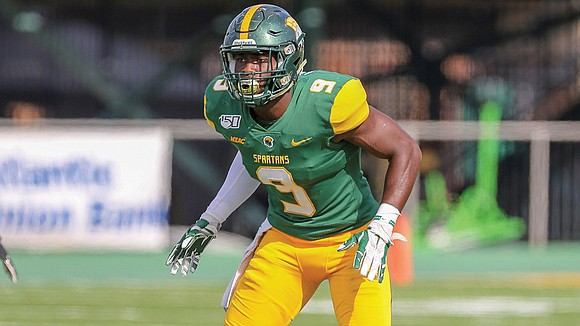Norfolk State University football opponents can finally exhale. After four years of tormenting the Spartans' opponents, Nigel Chavis has traded ...