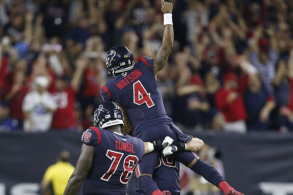 After it was all said and done, and the votes were tallied up. Three Houston Texans offensive weapons were selected ...