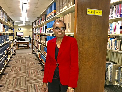 """Virgie Williams is a walking """"her-story"""" book. After graduating from Forest Park High School in 1968, Williams decided to attend BCCC, which was then known as Baltimore Junior College. Upon completing her studies at the school in 1970, she was offered a full-time position in the library"""