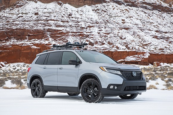 The 2019 Honda Passport was a refined crossover with a rugged look.