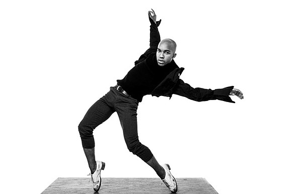 Byron Tittle, a young tap dancer with the Dorrance Dance, the critically acclaimed tap troupe headed by MacArthur Award winner ...
