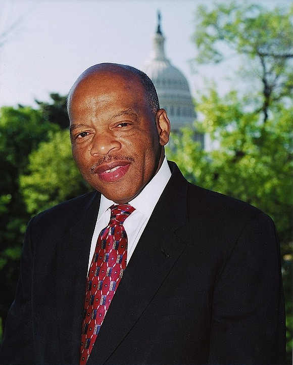 When a young John Lewis led hundreds of foot soldiers in a march over Selma's Edmund Pettus Bridge in 1965, ...