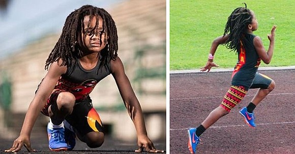 "At the age of 7, Rudolph Ingram Jr. also known as ""Blaze the Great"" has already broken several records and ..."