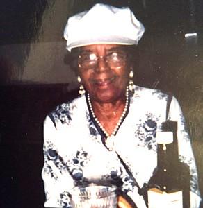 Bessie Elizabeth Harding during an event some years ago.