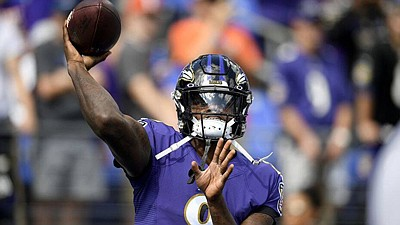 Jackson led the Ravens on numerous late drives to win games this season. Baltimore finished with a 14-2 record, the ...