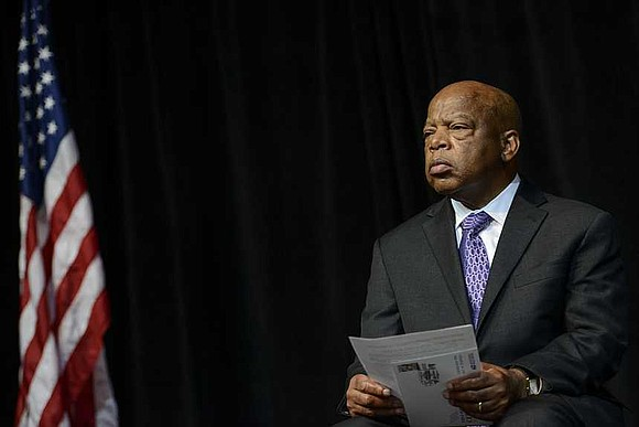 Civil rights icon and US Democratic Rep. John Lewis of Georgia known for fighting for our rights has been diagnosed ...
