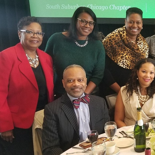 "The South Suburban Chicago Links, Incorporated Fundraiser, ""Getting In the Groove"" featuring the Whispers at the Odyssey Country Club!  The party was awesome as usual!  Event goers enjoyed the view of festivities from the tables of Link Faye Terrell-Perkins , Link Donna and Link Jennifer Norell."