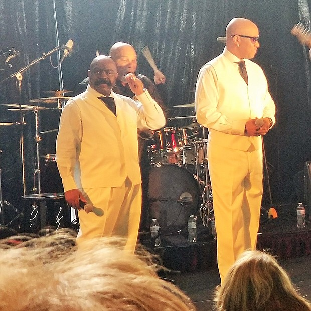 "Event goers were entertained by R&B Vocal Legendary Group ""The Whispers"