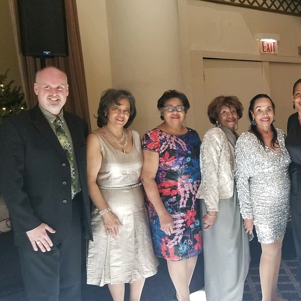 Greg Kramer, Covenant House of Chicago, Donor Relations Manager; Carolyn Lopez, Services to