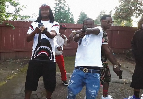 A music video posted to Youtube that glorified firearms was investigated by Homeland Security and led to the arrest of two Portland men for illegal position of a firearm.