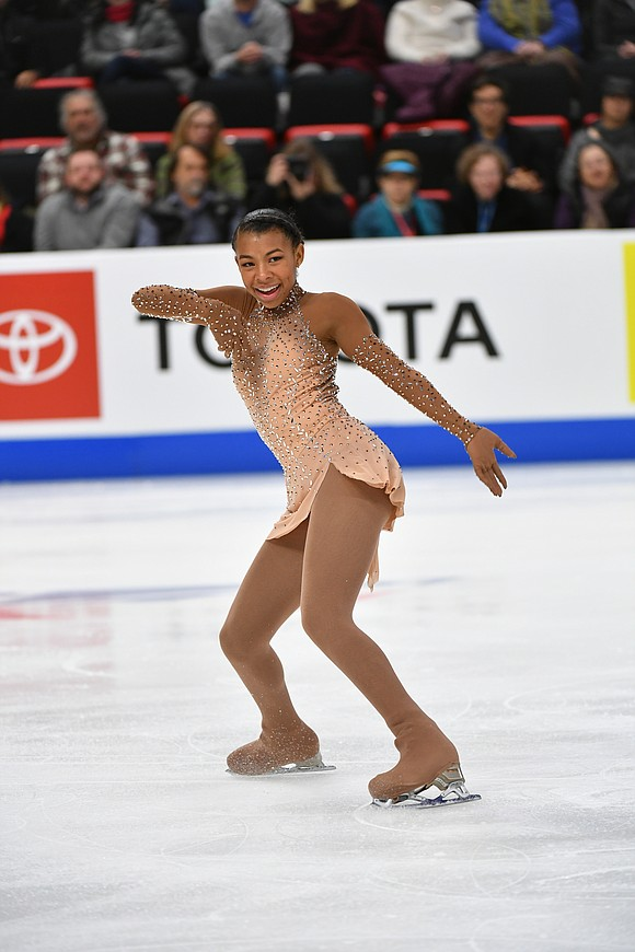 When Starr Andrews takes to the ice at the 2020 U.S. Figure Skating Championships, she is determined to show the ...