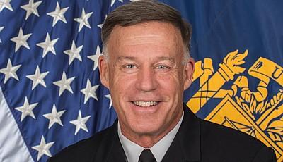 Vice Adm. Sean Buck , 63rd Superintendent of the U.S. Naval Academy. Keynote Speaker