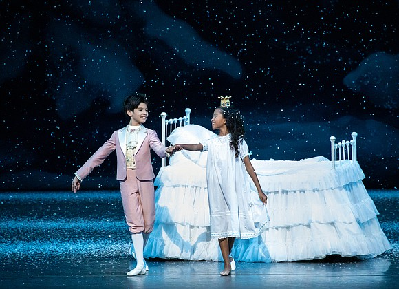 "This past holiday season, ballet history was made when New York City Ballet's annual production of George Balanchine's ""The Nutcracker"" ..."