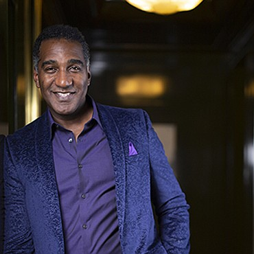 """Norm Lewis has been gracing the 54 Below stage for the last five years and his show """"Naughty and Nice"""" ..."""
