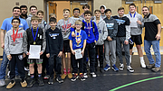 The Troy Trojan Wrestling Team placed 2ndat the Coal City 2020 Warrior Invitational.