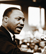 Dr. Rev. Martin Luther King Jr. wrote five books and delivered up to 450 speeches a year during his short lifetime.
