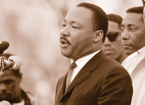 The words of America's foremost civil rights leader stirred great emotions across the country and the world at the time, ...