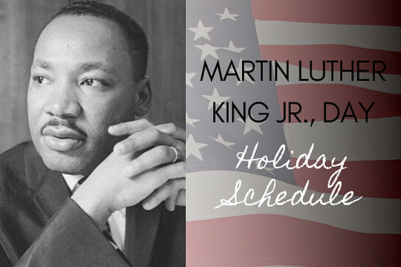 METRO will operate normal weekday service for METRORail, local, and commuter buses on Martin Luther King, Jr. Day, Monday, Jan. ...