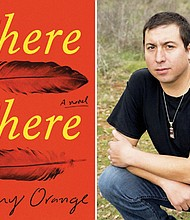 "Tommy Orange is the bestselling author of ""There There,"" a novel about the urban Native experience. (AP photo)"