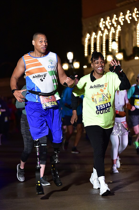 Notable sports celebrities Jackie Joyner-Kersee, Warrick Dunn and Tiki Barber joined more than 75,000 other runners and spectators this past ...
