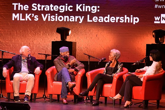 """The Strategic King: MLK's Visionary Leadership,"" as part of the Apollo's Uptown Hall series, was supposed to be hosted by ..."
