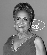Cathy Hughes on the red carpet at the 40th Anniversary celebrations of Urban One, Inc.
