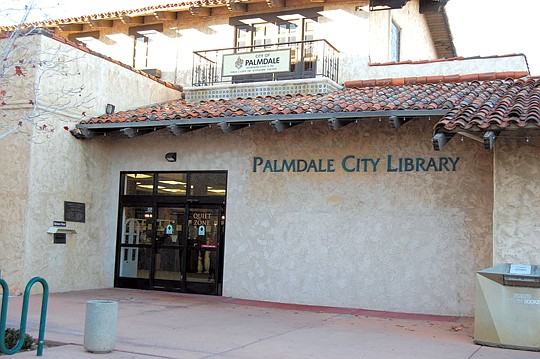 The Palmdale City Library, located at 700 E. Palmdale Blvd..