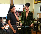 Myah Mitchell and Keke Palmer
