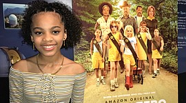"""Baltimore native Milan Ray is among the cast of TROOP ZERO, which is currently airing on Amazon Prime Video. Milan portrays the feisty character """"Hell-No Price."""" She is in the sixth grade and has been acting and modeling since she was three. Milan has appeared in numerous commercials and has done voiceovers for many companies and social media campaigns."""