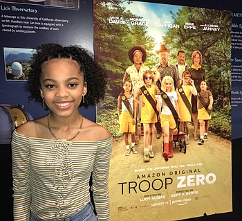 TROOP ZERO, made its debut on Amazon Prime Video.