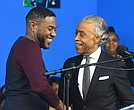 Public Advocate Jumaane Williams and Rev. Al Sharpton