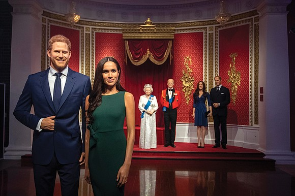 Goodbye, your royal highnesses. Hello, life as — almost— ordinary civilians. Britain's Prince Harry and his American wife, Meghan Markle, ...
