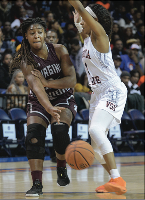 The Virginia Union University Lady Panthers would prefer to have two McNeills in its lineup, but the team will settle ...