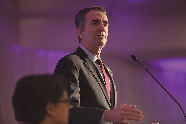Gov. Ralph S. Northam outlines steps he has taken in the past year to increase equity in Virginia law.