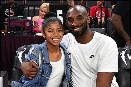 Kobe with daughter Gigi