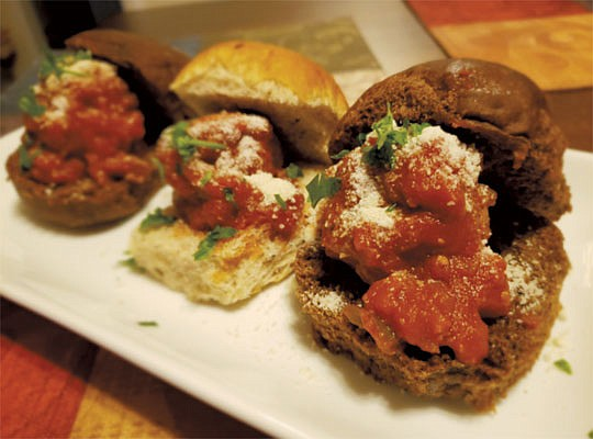 Sweet and Southern Ground Turkey Meatball Sliders on ...