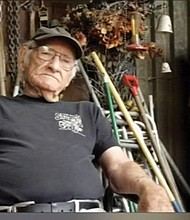 Eugene Gora, 85, a metal fabricator and neighbor who resided at his shop on Northeast Martin Luther King Jr. Boulevard was murdered in 2018.