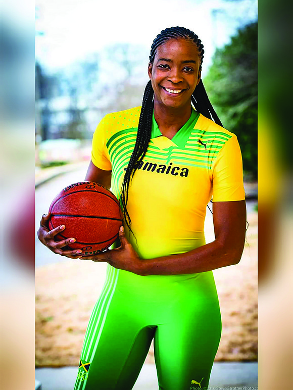 As the first Jamaican player in the WNBA, Simone Edwards, who was part of the New York Liberty during its ...