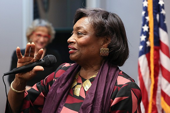 Senate Majority Leader Andrea Stewart-Cousins was unanimously re-elected by her Democratic Conference colleagues as senate president pro tempore and majority ...