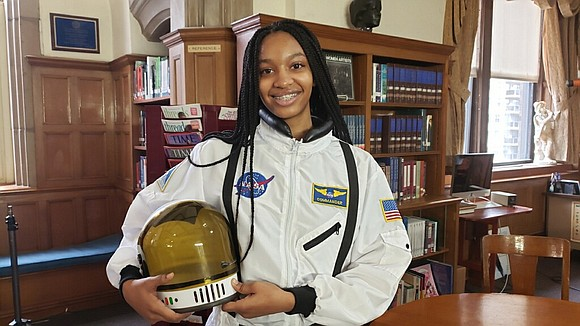 The sky is not the limit for 16-year-old Myah Mitchell. Her aspirations are out of this world and she is ...