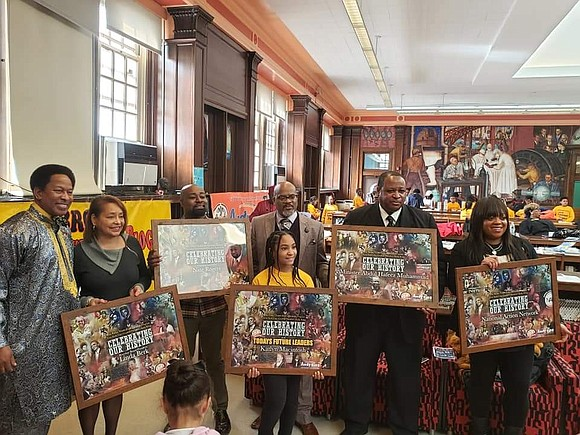 "To kick off Black History Month at Evander Childs Educational Campus, Council Member Andy King hosted his annual ""Celebrating Our ..."