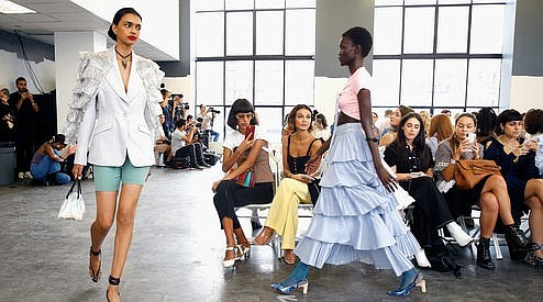 For spring 2020, eight Asian designers from the Council of Asian Designers of America (CADA) presented remarkable collections at NYFW.