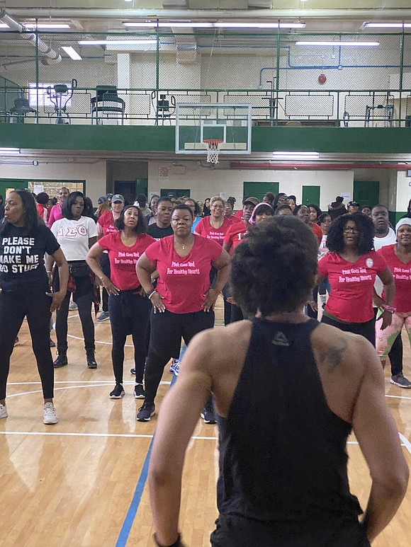 Kicking off American Heart Month on the 1st of February, the members of Alpha Kappa Alpha Sorority Incorporated, Eta Omega ...