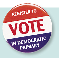 Want to vote in the Democratic presidential primary on Tuesday, March 3?